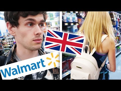 British Couple do WALMART