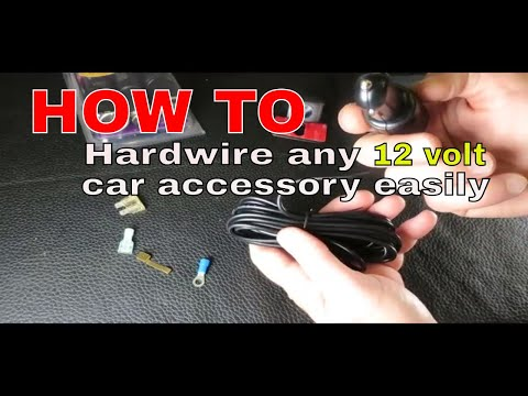 How To Hardwire 12 Volt Car Accessory Without Cigarette Plug