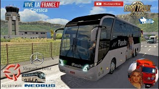 Euro Truck Simulator 2 (1.36 Beta)   NeoBus New Road 10-380 Travel in Corsica Vacancy Vive la France DLC by SCS Software + DLC's & Mods  Support me please thanks Support me economically at the mail vanelli.isabella@gmail.com  Roadhunter Trailers Heavy Car