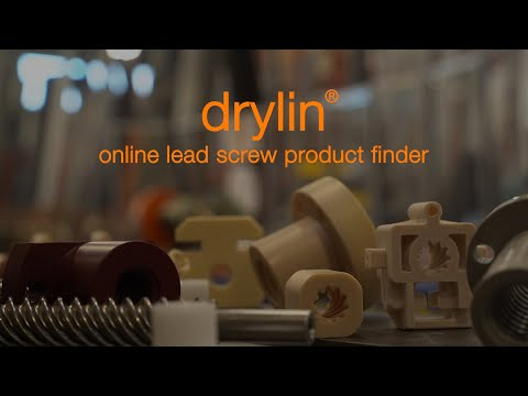 Walk-through - drylin® online lead screw product finder