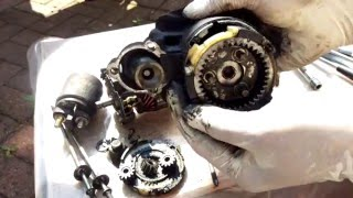 How To Fix a Starter Motor Part 1 Taking Apart and Cleaning