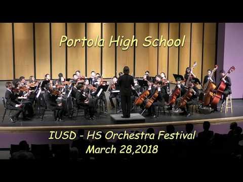 2018: Portola High School at IUSD HS Orchestra Festival