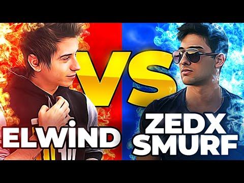 Zedxsmurf - ELWIND VS ZEDXSMURF 1v1 (EĞLENCESİNE)