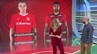 D'ALESSANDRO X LUCHO GONZÁLEZ | ESPORTE ESPETACULAR | FINAL DA COPA DO BRASIL | INTER X ATHLÉTICO