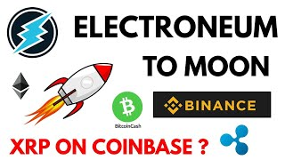 Electroneum Mass Adoption | Ripple | Bitcoin cash