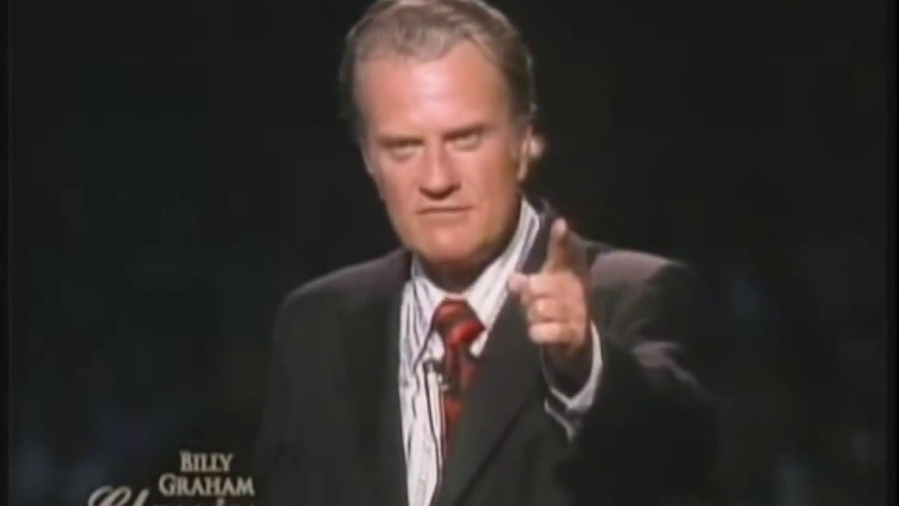 "Billy Graham's Greatest Sermon - ""Who is Jesus?"""