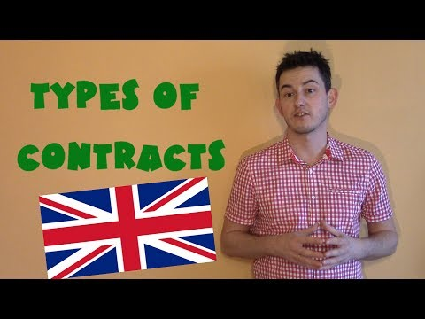 United Kingdom #25 - Types of contracts