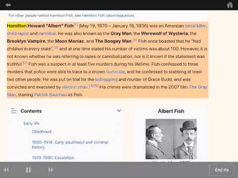 Albert Fish - Wikipedia Page Part 1