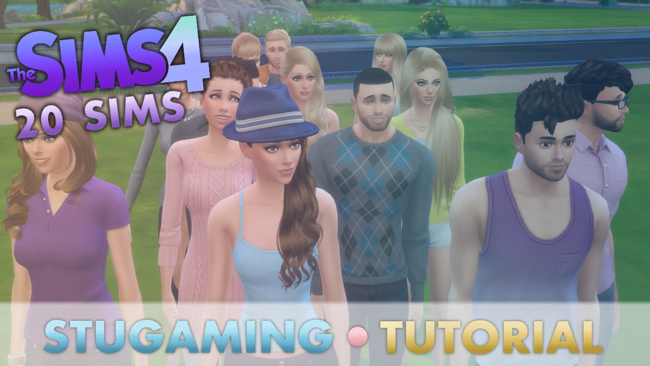 The Sims 4 | Tutorial | Fullhouse Mod | Up to 20 Sims in Active Household