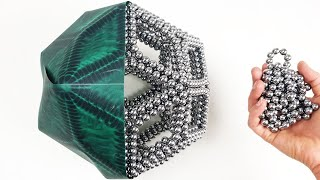 Magnet Rhombic Tricontahedron , Discover Magnetic Fields lines | Magnetic Games