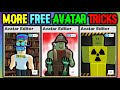 These Avatar Tricks Cost 0 Robux! (ROBLOX)