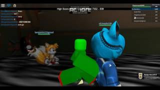ROBLOX Sonic.EXE and Sally.EXE With xXJoeyXx128