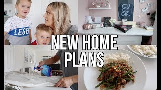 GETTING RID OF THE OFFICE? COOK WITH ME AND NEW HOME PLANS
