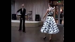 Зажигательный танец - Супер джайв!