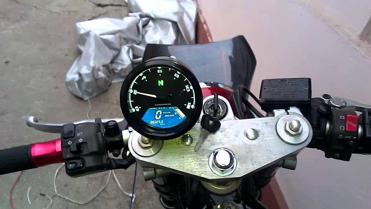 fzs600 fazer ebay speedometer rpm signal youtube rh youtube com