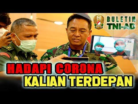 Hadapi Corona Kalian Terdepan | BULETIN TNI AD