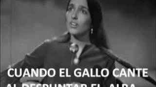 DON´T THINK TWICE, ITS ALL RIGHT JOAN BAEZ SUBTITULOS AL ESPAÑOL
