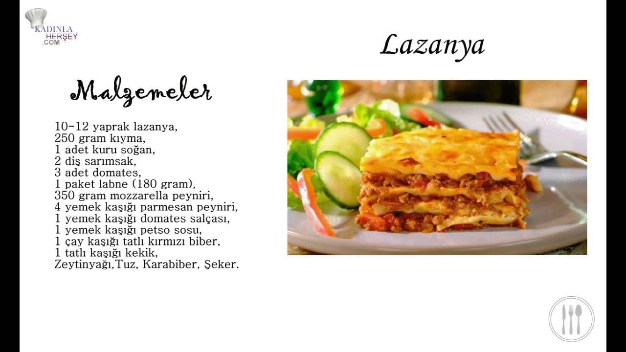 Ragü Soslu Lazanya
