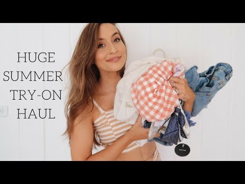 SUMMER VACATION HAUL + WHERE WE ARE GOING