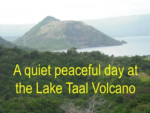"A ""Quiet"" Day at Lake Taal Volcano!"