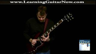 Open E Tuning Slide Guitar Solo in the style of Duane Allman, Trucks and Me!
