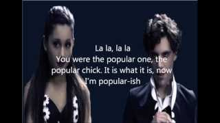 Mika ft Ariana Grande - Popular Song (lyrics in description - HD 2013 RELEASE!)