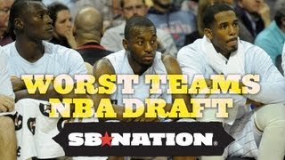 Worst teams nba draft