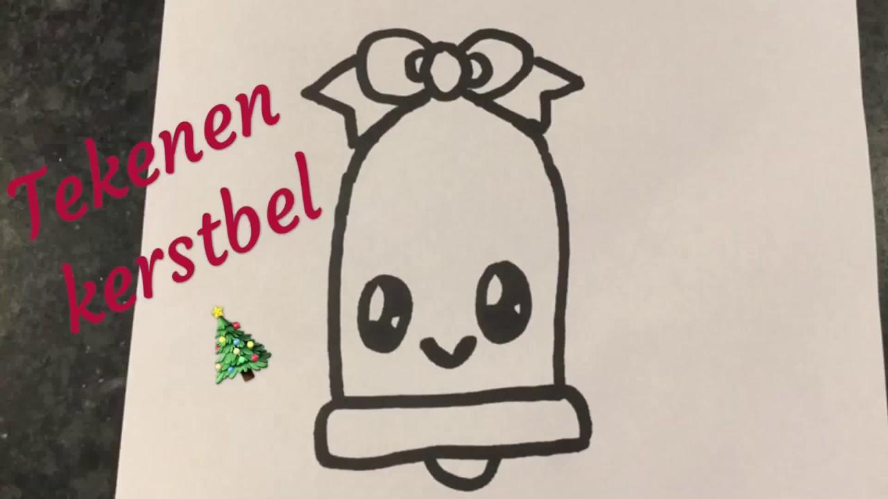 Favoriete 🎄Tekenen voor beginners | Kerst tekenen: MAKKELIJKE KERSTBEL &GG25