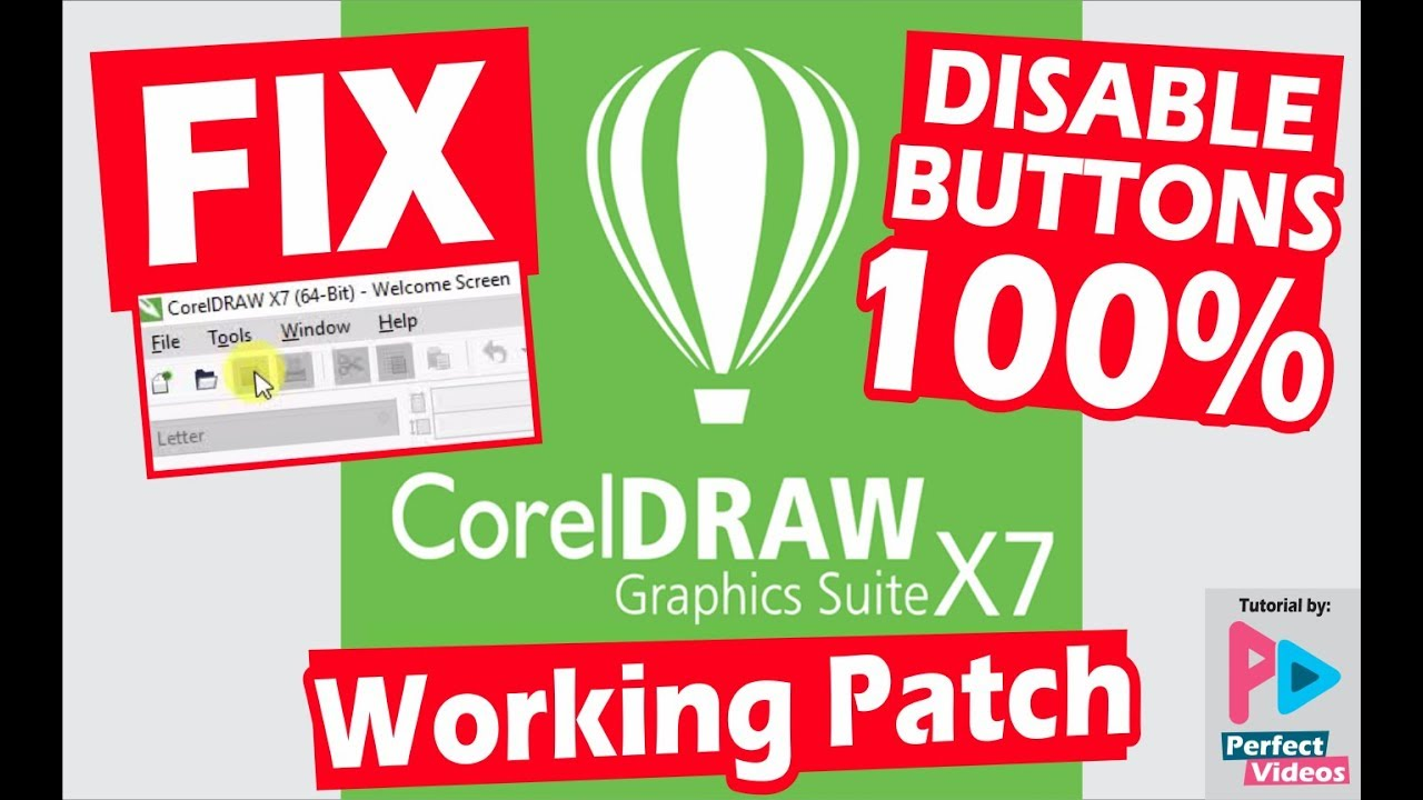 How To Fix Corel Draw X7 Can T Save Export Print Copy Paste