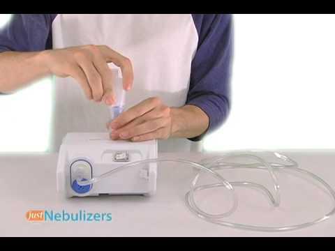 Just Nebulizers: Omron Compressor Nebulizer System NE-C25
