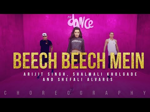 Beech Beech Mein - Jab Harry Met Sejal (Choreography) FitDance Channel