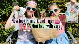 New look tiger and primark Mini haul // with zara