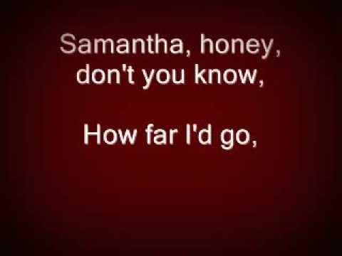 """Samantha"" by Clint Black"