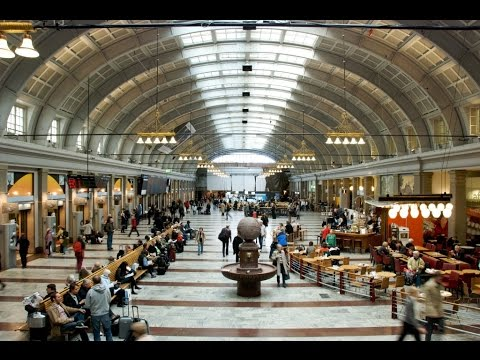 Fantastic Stockholm Train Station and Trains - Video Tour
