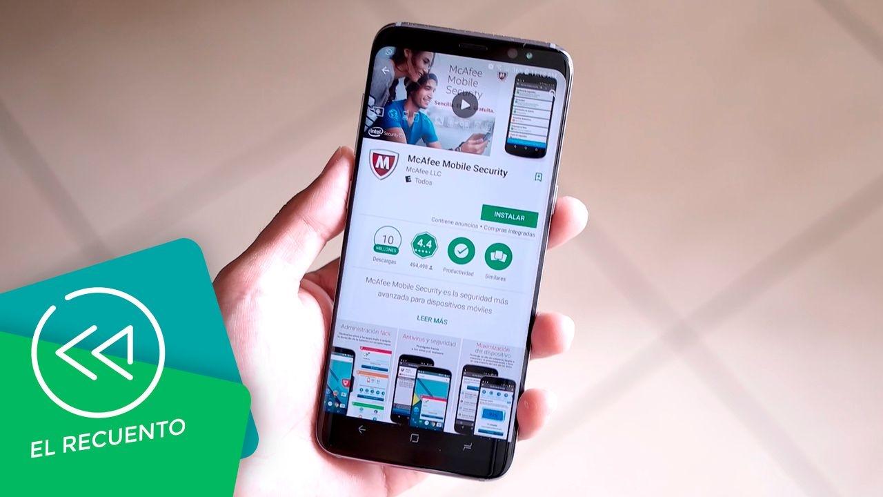Antivirus McAfee preinstalado en Samsung Galaxy S8 | El recuento