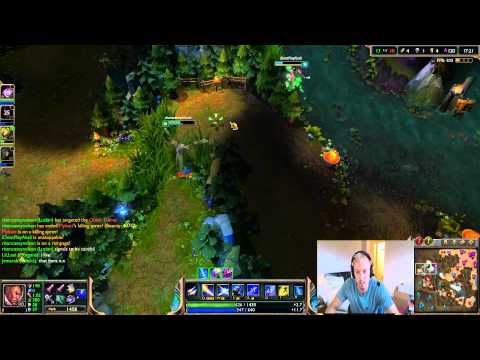 """League of Legends """"The Journey Back"""". How to go from Gold to Diamond I. Gold I to Plat V! Game 1!"""
