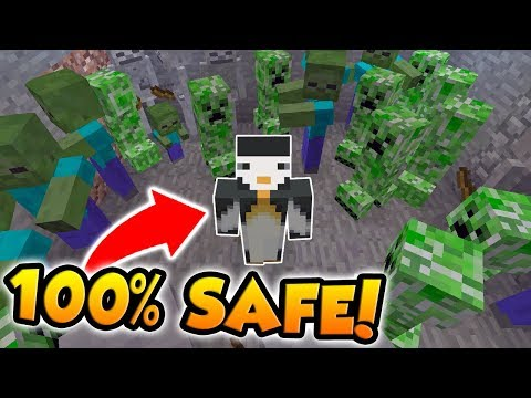 BECOMING COMPLETELY IMMUNE TO ALL MOBS! (Minecraft Buried Alive #8)