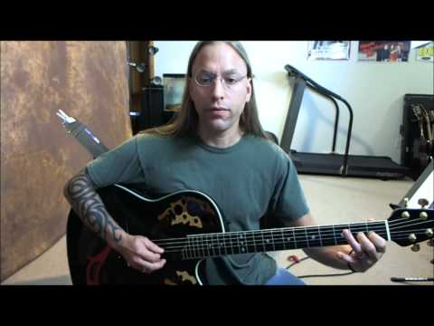 Steve Stine Guitar Lesson - She Talks to Angels by the Black Crowes (standard tuning)