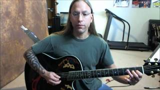 Guitar Lesson - She Talks to Angels by the Black Crowes