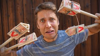 12 Mouse Traps - WILL IT JUGGLE?!