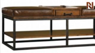 Hekman 7-3251 Ottoman Coffee Table From Accents