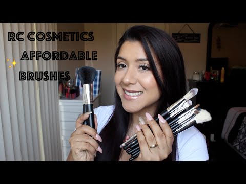 Affordable Brushes  RC Cosmetics Review