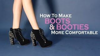 How To Break Into Your New Boots and Make It More Comfortable
