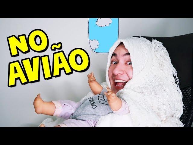 TIPOS DE PESSOAS NO AVIÃO I Falaidearo