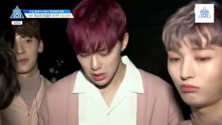 [engsub] (Produce 101/ss2/ep7) Downpour team (4/4)