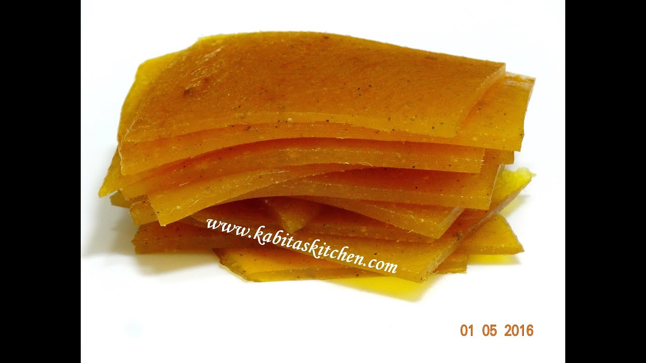 Download Aam Papad Recipe-How to Make Perfect Aam Papad-Homemade Mango Papad-Easy Mango Recipe