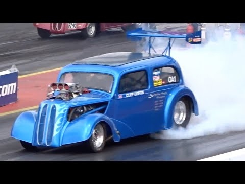 LEGENDS 05 - CLIFF GRIFFIN - 540CI 1954 FORD POPULAR