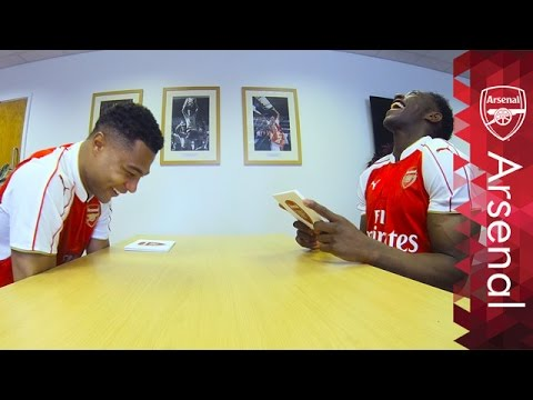 Danny Welbeck & Serge Gnabry | Rapid Fire