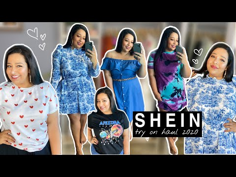 SHEIN TRY ON HAUL 2020 | PLUS SIZE ((HIT OR MISS?)) TRY-ON HAUL