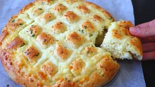 Супер хлеб с чесноком и сыром Рецепт чесночного хлеба